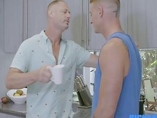 Porn star Dane fucking a hunk daddy raw