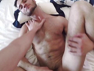 Humiliated slut gets pounded in POV gay porn vid