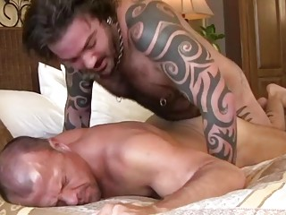 Rock and Brock are a couple of bareback boinking bears