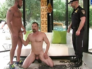 Hunter Marx, Dirk Caber and Max Sargent have a threesome