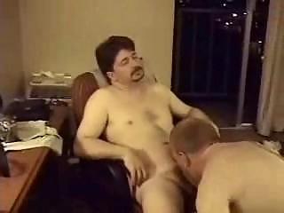 Shot after shot of older gays sucking on cocks