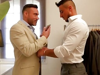A boutique owner fucks his young and hot customer