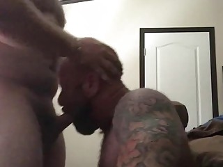 Older bears fucking hard on webcam