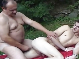 Fat daddies fucking their sons compilation