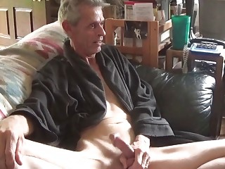Gay older guy masturbation in high definition 1080p