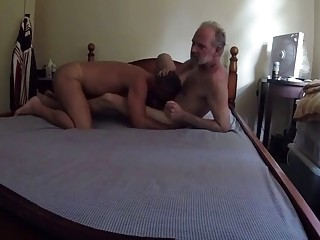 A hidden camera catches all the action between these gay fuckers