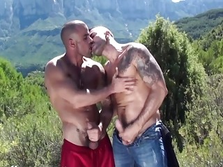 Damien and Max have car sex while traveling