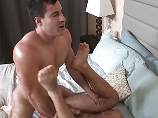 Hairy boys Eddie and Randy are getting pumped