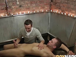 Sixty nine with master and his young sub